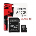 Kingston 64Gb Micro Sd Class10